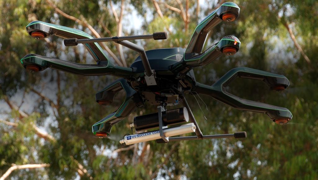 DroneRad Aerial Radiation Detection Home